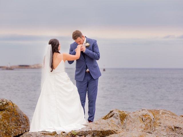 The wedding of Anna and Josh