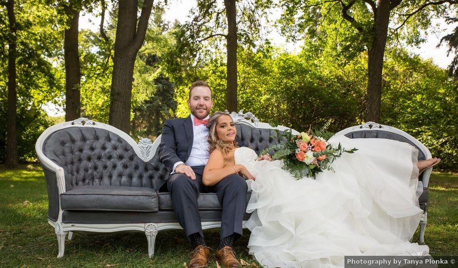 Kole and Krysty's wedding in Lethbridge, Alberta