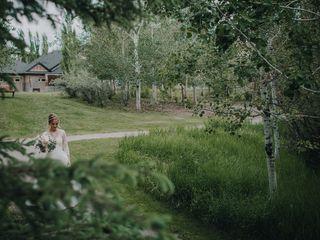 The wedding of Tia and Matt 1