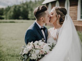 The wedding of Tia and Matt