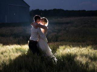 The wedding of Nicki and Tom