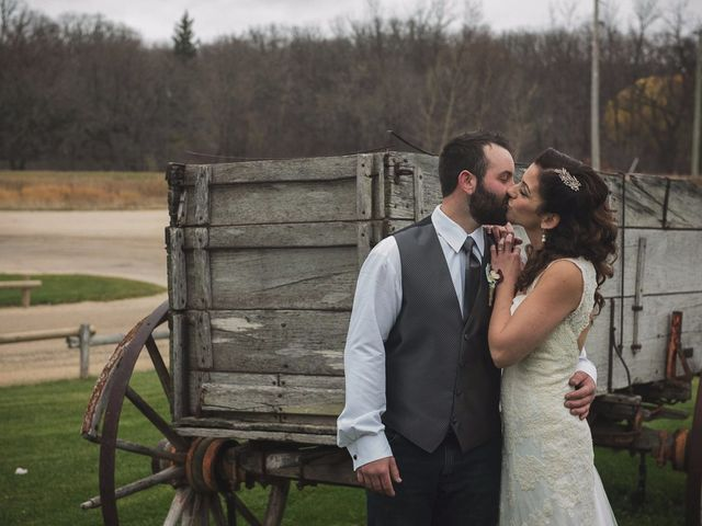 T.J and Courtney's wedding in Starbuck, Manitoba 41