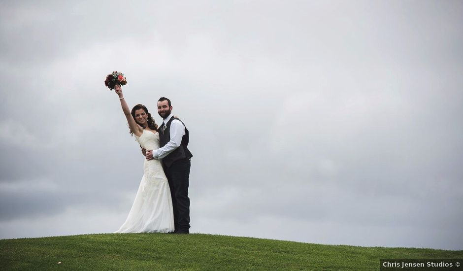 T.J and Courtney's wedding in Starbuck, Manitoba