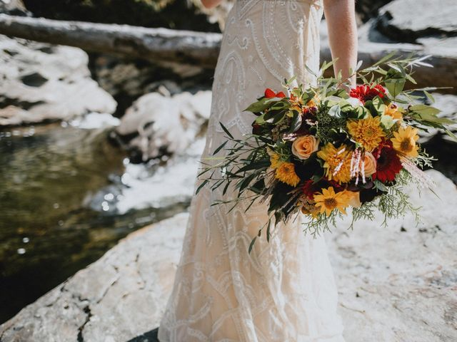 Jared and Natalie's wedding in Clearwater, British Columbia 9