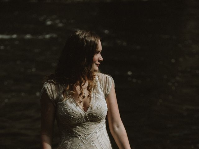 Jared and Natalie's wedding in Clearwater, British Columbia 10