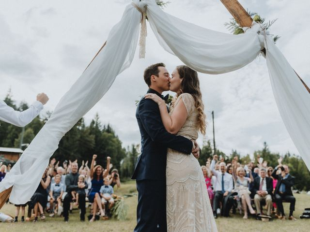 Jared and Natalie's wedding in Clearwater, British Columbia 14