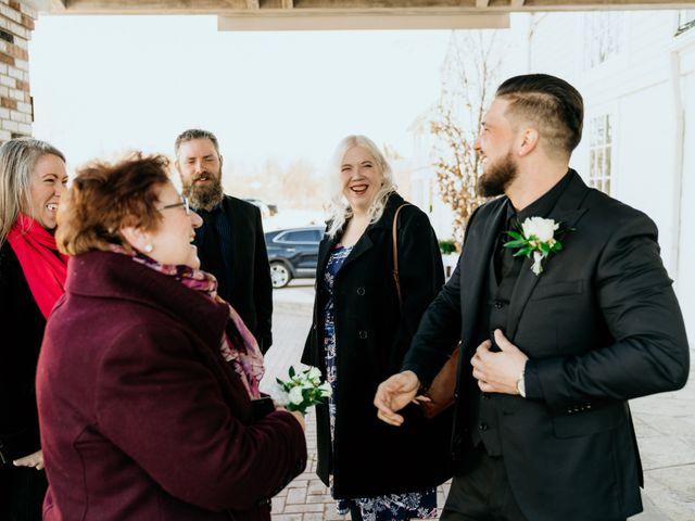 Matthew and Rebecca's wedding in Vaughan, Ontario 43