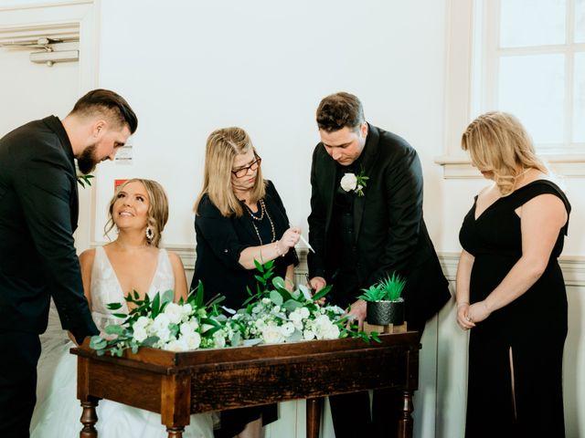 Matthew and Rebecca's wedding in Vaughan, Ontario 75