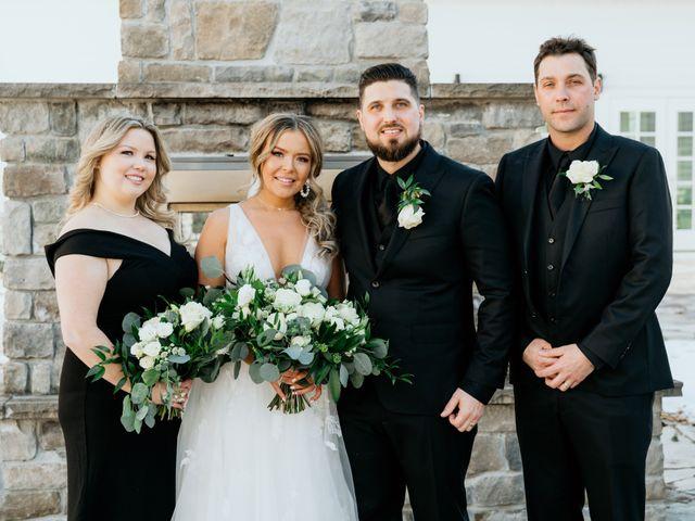 Matthew and Rebecca's wedding in Vaughan, Ontario 89