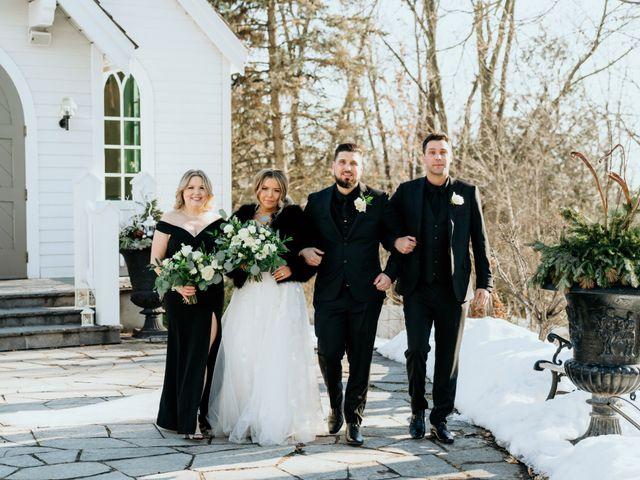 Matthew and Rebecca's wedding in Vaughan, Ontario 95