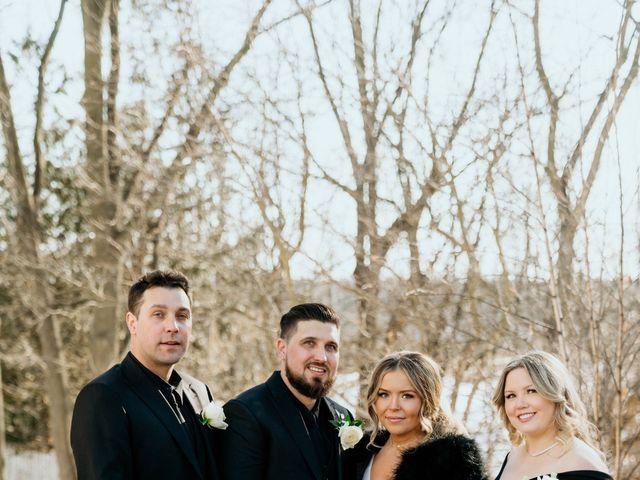 Matthew and Rebecca's wedding in Vaughan, Ontario 96