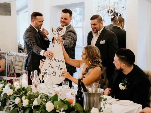 Matthew and Rebecca's wedding in Vaughan, Ontario 123