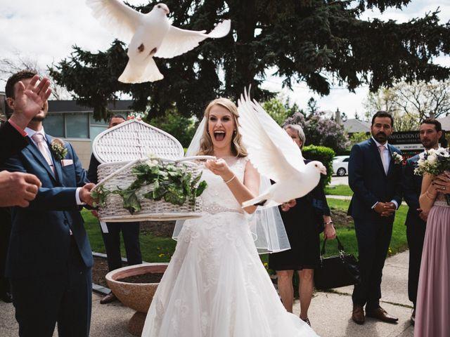 Garin and Basia's wedding in Brampton, Ontario 9
