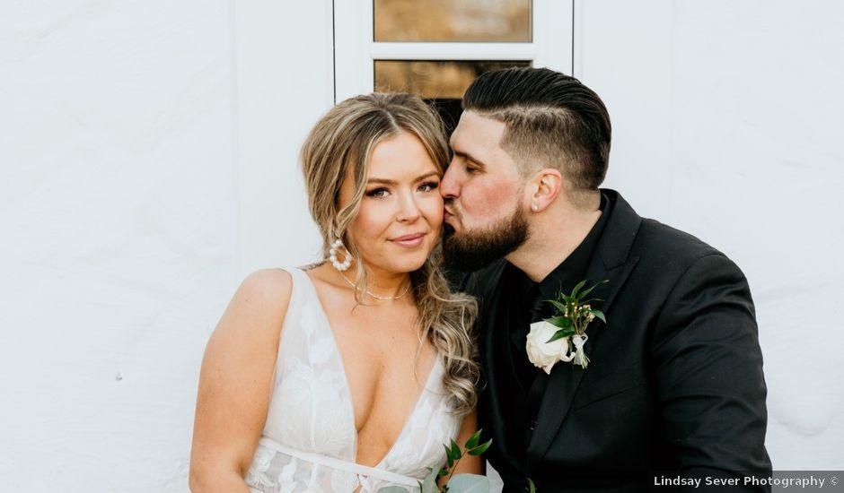 Matthew and Rebecca's wedding in Vaughan, Ontario