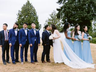 The wedding of Kate and Alvin
