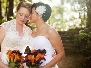The wedding of Stephanie and Stephanie
