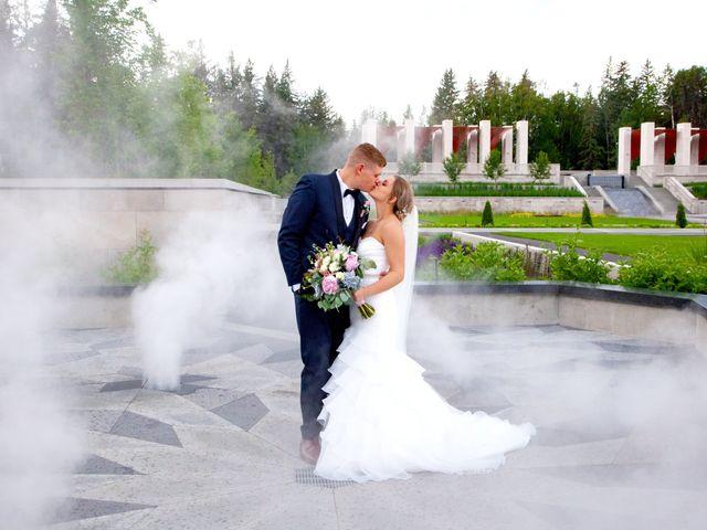 Kurtis and Danielle's wedding in Leduc, Alberta 1