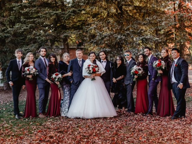 Mike and Klaudia's wedding in Richmond Hill, Ontario 75