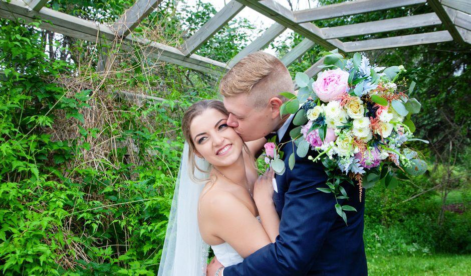 Kurtis and Danielle's wedding in Leduc, Alberta