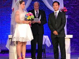 The wedding of Amanda  and Rob