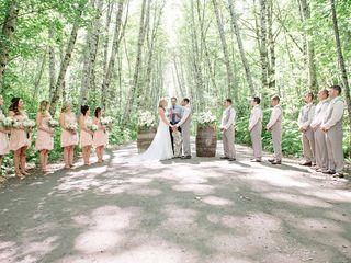 The wedding of Salena and Ryan