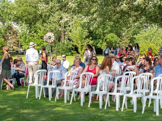 Eric and Kendall's wedding in Oxford Station, Ontario 23