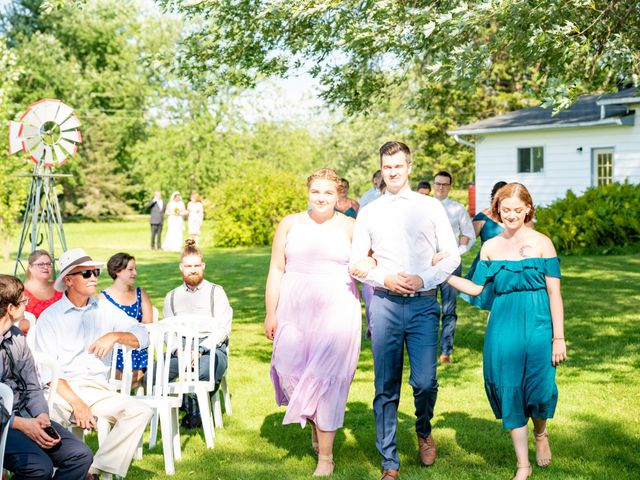 Eric and Kendall's wedding in Oxford Station, Ontario 32