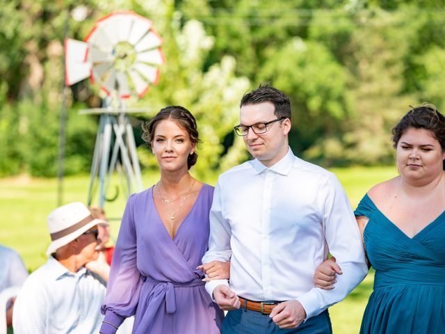 Eric and Kendall's wedding in Oxford Station, Ontario 33