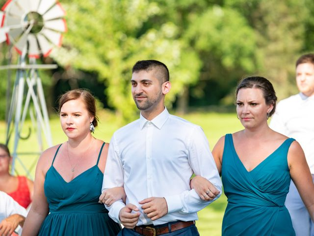 Eric and Kendall's wedding in Oxford Station, Ontario 34