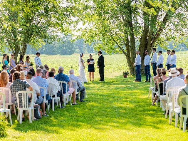 Eric and Kendall's wedding in Oxford Station, Ontario 40