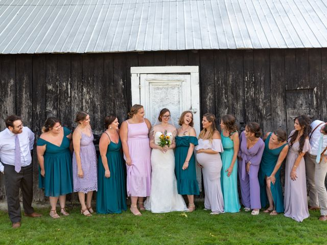 Eric and Kendall's wedding in Oxford Station, Ontario 61