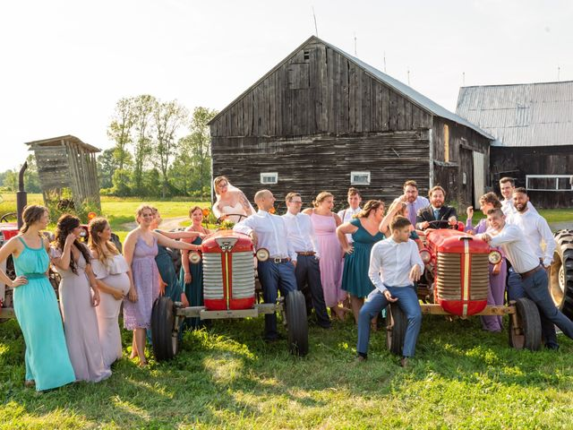 Eric and Kendall's wedding in Oxford Station, Ontario 64