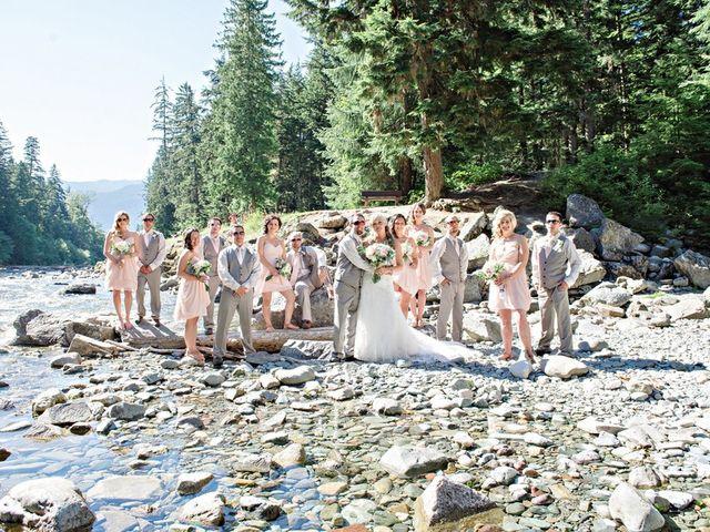 Ryan and Salena's wedding in Terrace, British Columbia 34