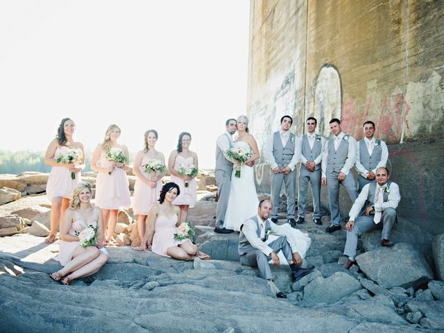 Ryan and Salena's wedding in Terrace, British Columbia 2