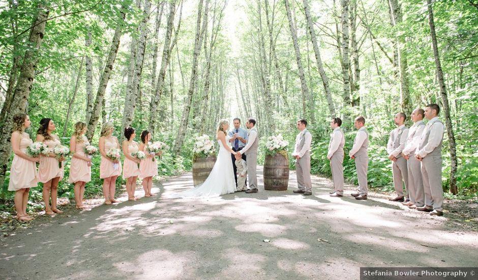 Ryan and Salena's wedding in Terrace, British Columbia