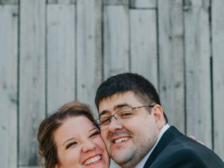 The wedding of Tracy and Bryan 1