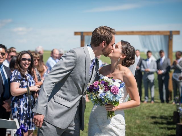Alex and Laura's wedding in Olds, Alberta 4