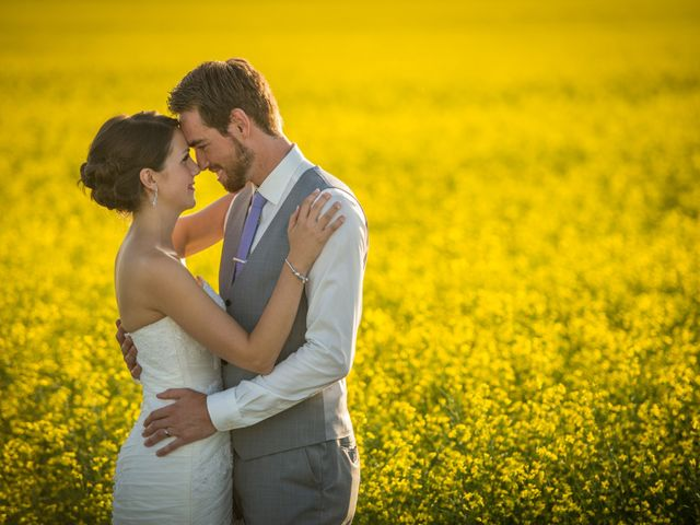 Alex and Laura's wedding in Olds, Alberta 7