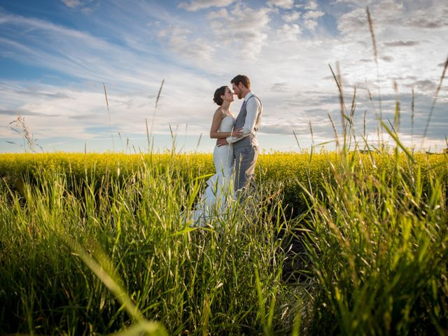 Alex and Laura's wedding in Olds, Alberta 9