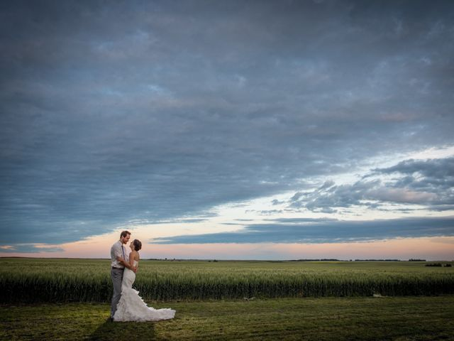 Alex and Laura's wedding in Olds, Alberta 1