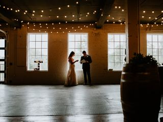 The wedding of Jaclyn and Dylan