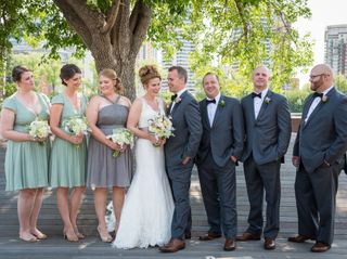 The wedding of Mary Beth and Graham