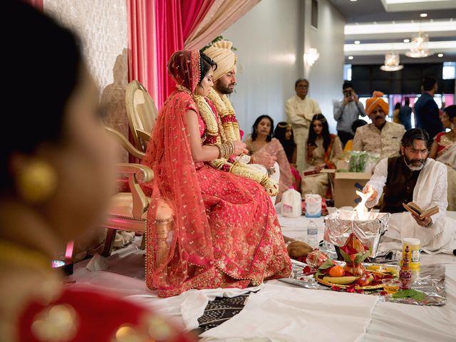 Rubin and Hem's wedding in Edmonton, Alberta 90
