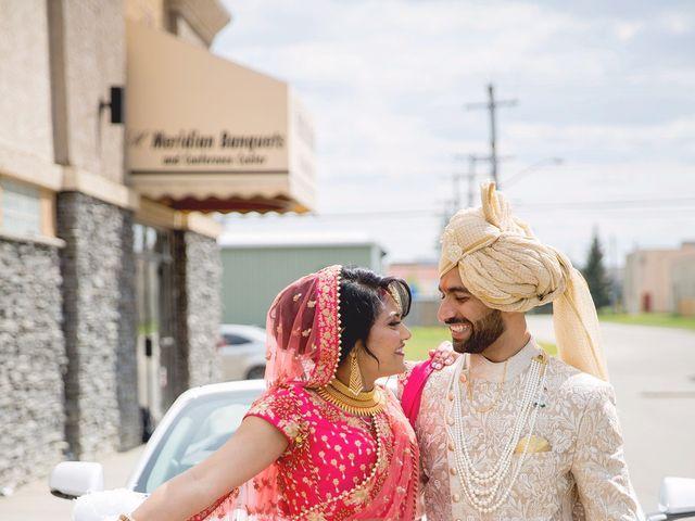 Rubin and Hem's wedding in Edmonton, Alberta 114