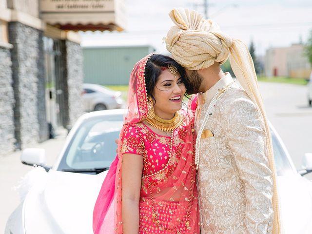 Rubin and Hem's wedding in Edmonton, Alberta 116