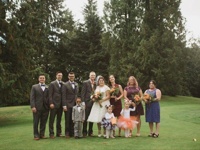 The wedding of Desirae and Caleb