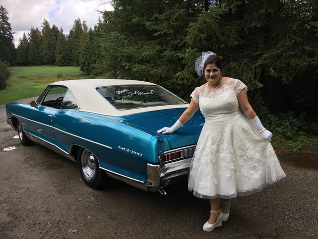 Caleb and Desirae's wedding in Mission, British Columbia 2