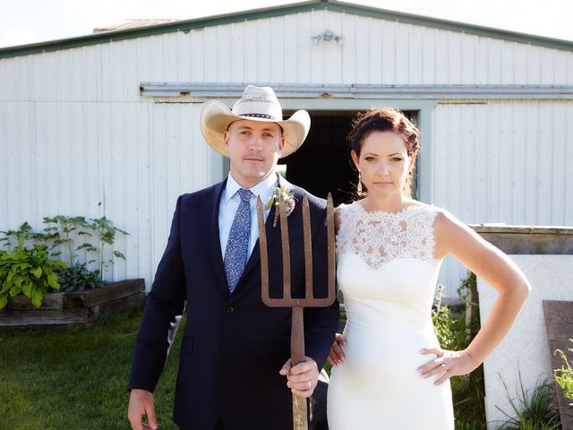 The wedding of Christine and Greg