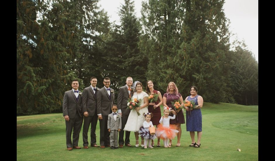 Caleb and Desirae's wedding in Mission, British Columbia