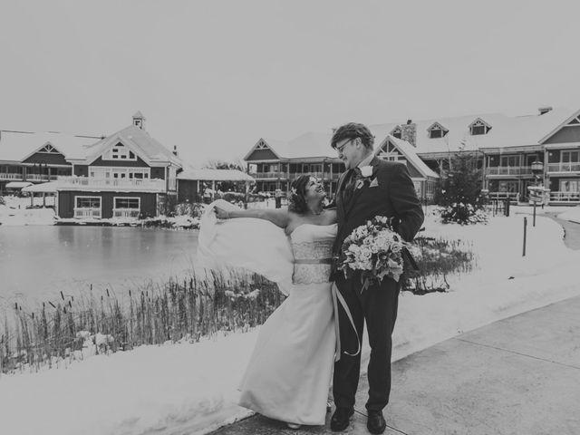 The wedding of Louisa and David